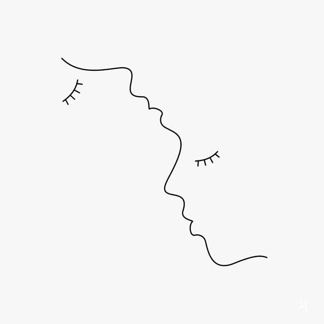 20+ Werke von Singing Love mit linearen Illustrationen
