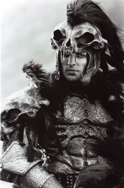 "One of my fave characters, the Kurgan. Actor - Clancy Brown in ""Highlander""."