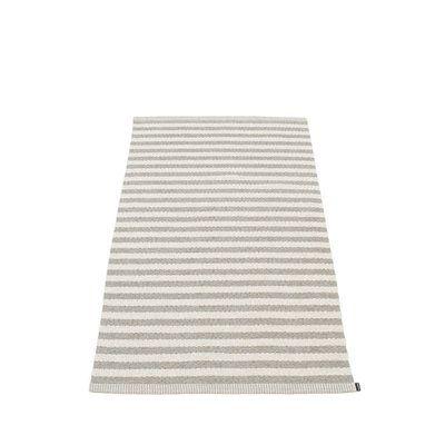 DUO - tapis long, tapis de couloir largeur 85cm Pappelina - WARM GREY - 85x160cm