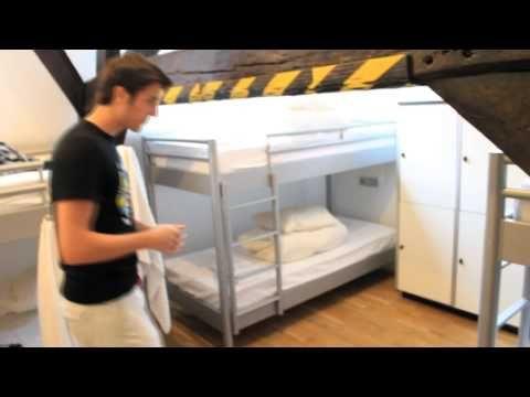 Visite d'une auberge de jeunesse à Bruxelles - YouTube
