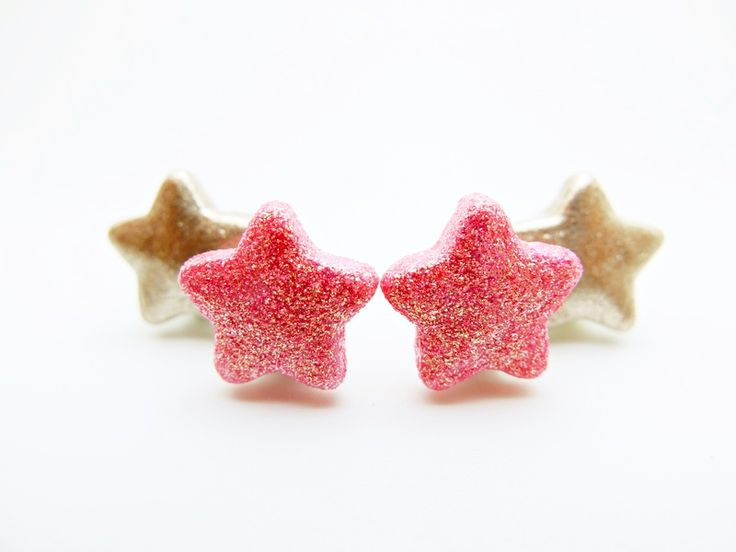 Boucles d'oreilles enfant #etoile pour petites #princesses #princess