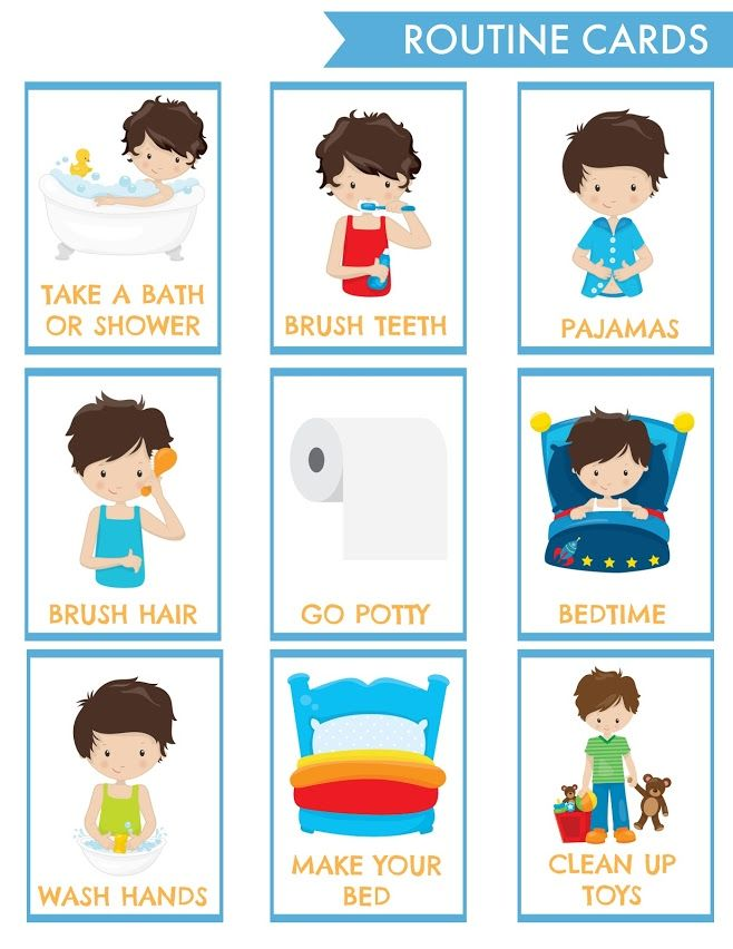 Shop The Pragmatic Parent With Images Routine Cards Chore