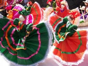 Mexican Corn Husk Dolls