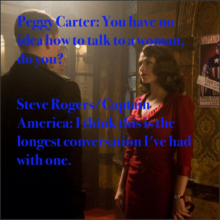 Peggy Carter Quotes Captain America Winter Soldier