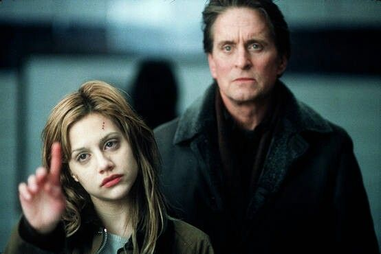 Don't say a word / Best thriller ever / michael douglas , brittany murphy + mystic hart island and bronx