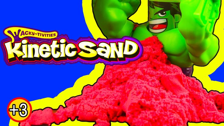 HULK SMASH KINECTIC SAND Like Play-Doh Fun Toy Review Spin Master