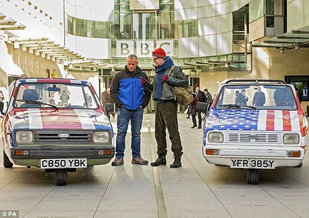 The BBC's newly revamped Top Gear, which will be presented by Chris Evans and former Friends actor Matt LeBlanc (both are pictured), is said to cost around £650,000 per episode instead of the previous £450,000
