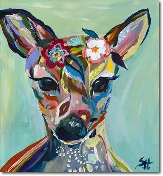 Starla Halfmann - Abstract Fawn