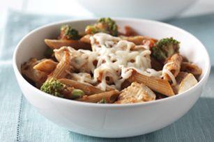 Broccoli & Chicken pasta toss - 30min dinner