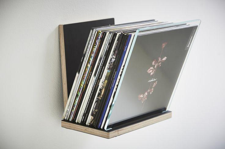 Rath & Stok shelf for record storage, display