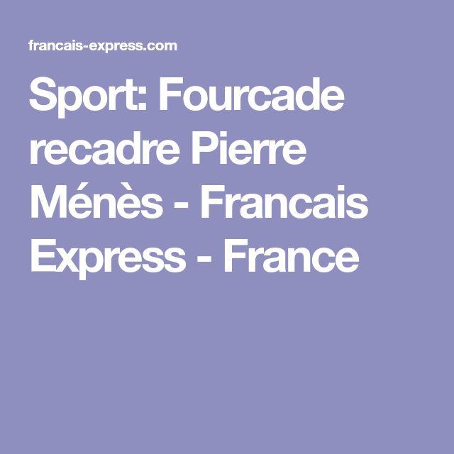 Sport:   Fourcade recadre Pierre Ménès  - Francais Express - France
