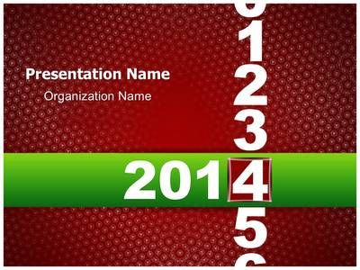 19 best new year powerpoint template images on pinterest ppt calender new year powerpoint template toneelgroepblik Images