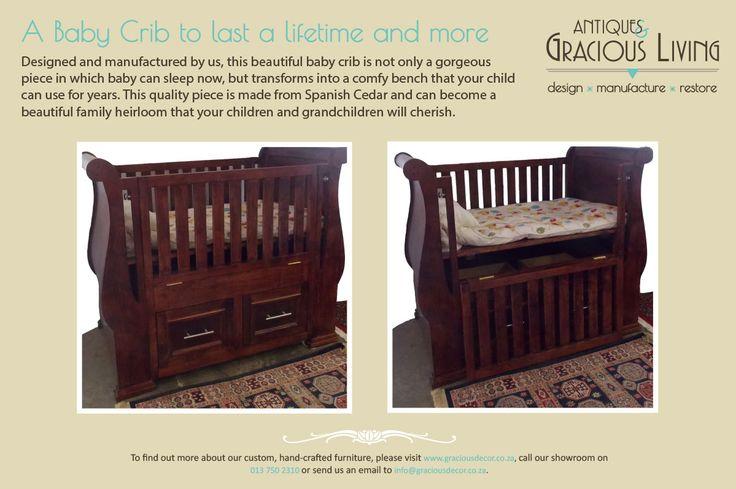 The adaptable crib...