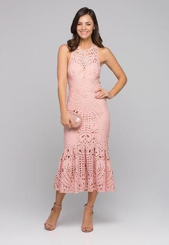 Harmony Cut-Out Midi Dress