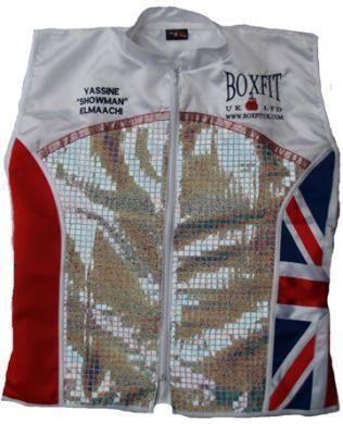 YASSINE SHOWMAN ELMAACHI PRO BOXING JACKET BA5085 | Boxfit UK