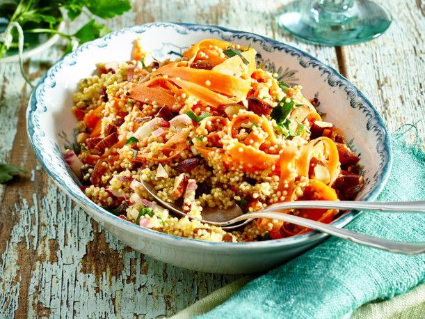 Möhren-Quinoa-Salat Rezept | LECKER