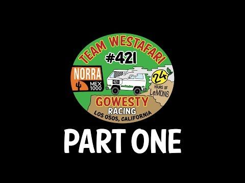 GoWesty x NORRA Mexican 1000: Part One - Episode 1 in a three-part series documenting the GoWesty x NORRA Mexican 1000 race in April 2017. Come along for the ride while we transform our low-budget, beat-to-crap LeMons race van into a Baja-crushing 4WD Syncro. Filmed and edited by Aidan Klimenko. #GoWesty #NoraMexican1000 #bajarace #deadlaststart #racefirstworklater #truckerhats #doghousepromotions #westafari