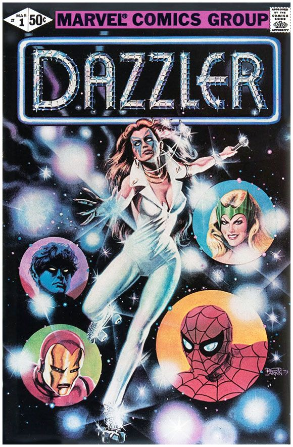 Dazzler #1 Error Variant: Click the pic and find out more...
