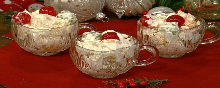 Ambrosia Salad Recipe | The Chew - ABC.com ******And I add chopped pecans to mine also.