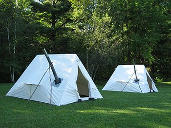 Lightweight Canvas Tents for Winter Camping and Elk Hunting - Snowtrekker Tents