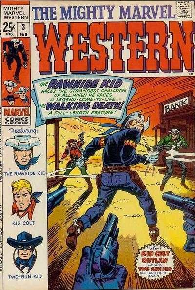 western comics covers | Comic Books - Covers, Scans, Photos in Mighty Marvel Western Comic ...