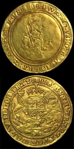 """The first Gold Sovereign was an English hammered coin first struck in 1489, during the reign of King Henry VII of England (1485-1509). Lord Daubeney & Bartholomew Reed, joint masters & workers of the mint by Royal appointment, were given instructions to create a new gold coin at the """"standard fineness"""" - 958 fine,also known as 23 carat; the standard for gold at the time. #Coins #GoldCoins #Pennies #USGoldCoins #TheHappyCoin"""