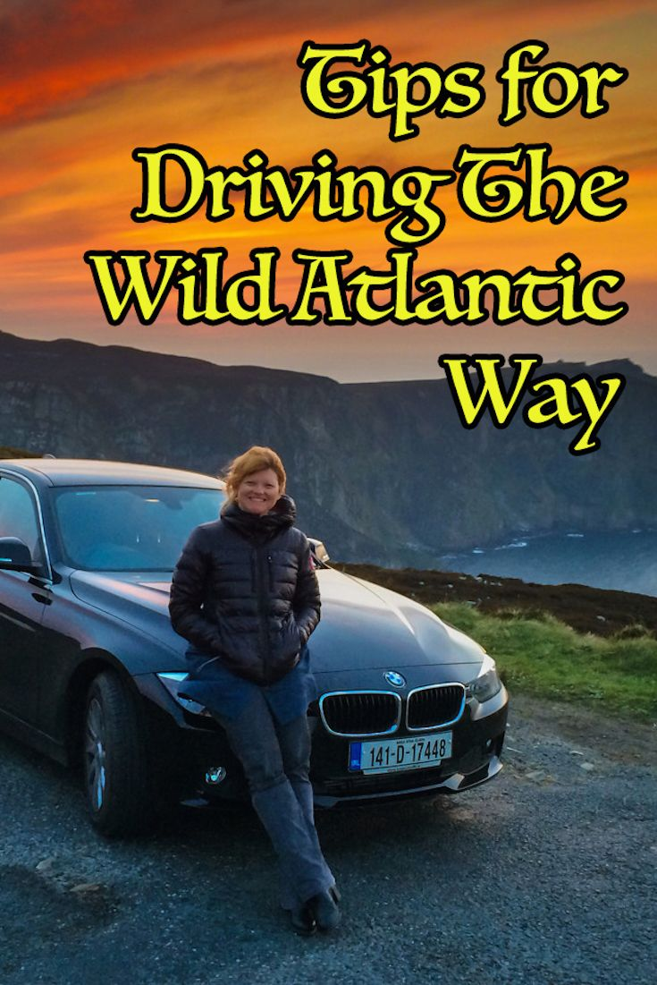 tips for driving the Wild Atlantic Way