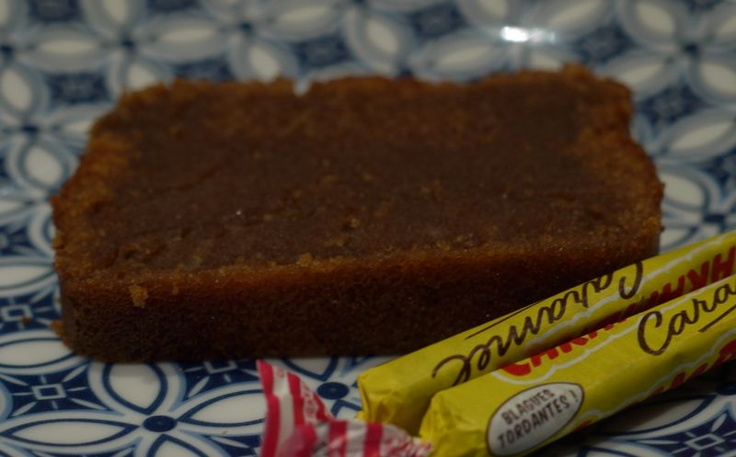 Cake aux Carambars; une recette de fashion cooking