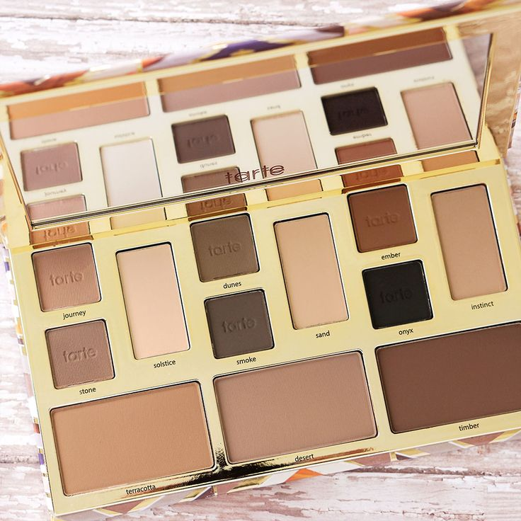 TARTE - Brows, eyes, nose, cheeks and jawline! You name it, our NEW clay play face shaping palette will contour it all!