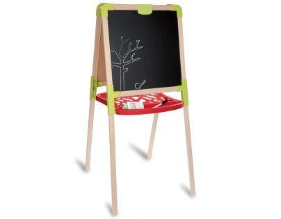 Smoby Dřevěná tabule na kreslení 2v1
