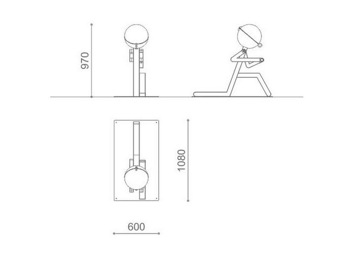 Подставка для велосипеда PIT-STOP by Metalco дизайн Architettura