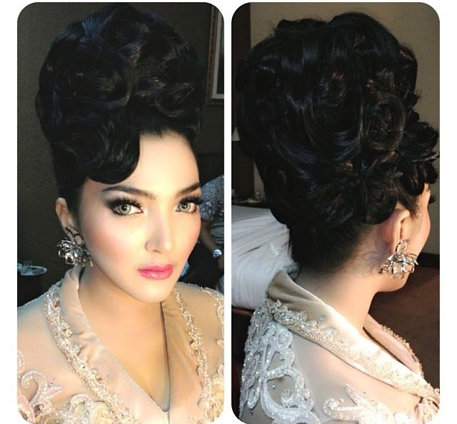 1000+ Ideas About Big Hair Updo On Pinterest