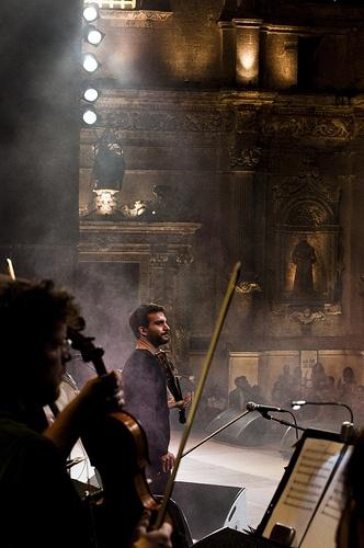 Ex Convento degli Agostiniani, la scenografia che da sempre fa da sfondo al concertone di Melpignano.