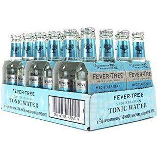 Fever Tree Mediterranean Tonic Water, 200ml, 24 Bottles