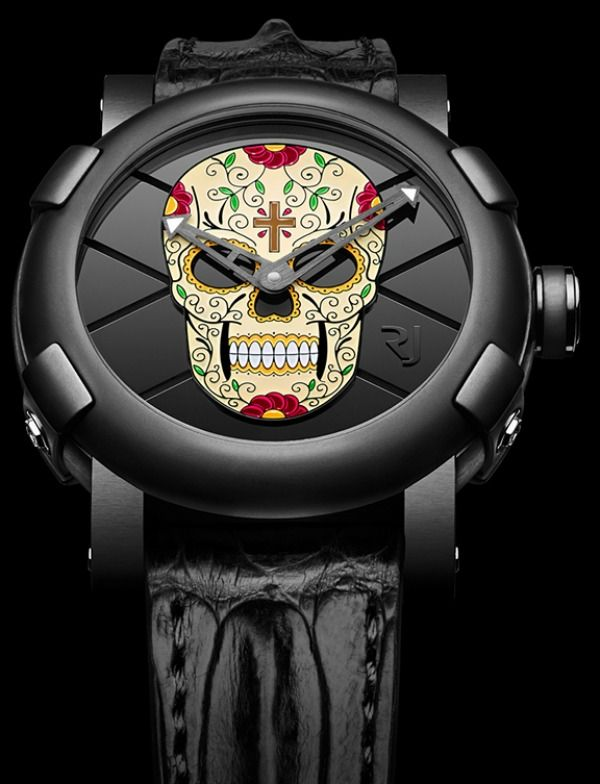 Holiday-Inspired #Skull #Timepiece