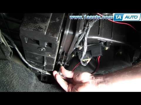 How to install replace cabin air filter chevy silverado for Chevy express cabin air filter location