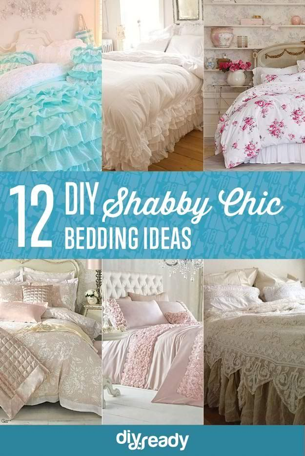 redecorating bedroom%0A    DIY Shabby Chic Bedding Ideas   DIY Bedroom Ideas On A Budget For First  Time