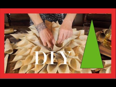 Adorno de Navidad: Copo de nieve de papel. How to make paper snowflakes. - YouTube
