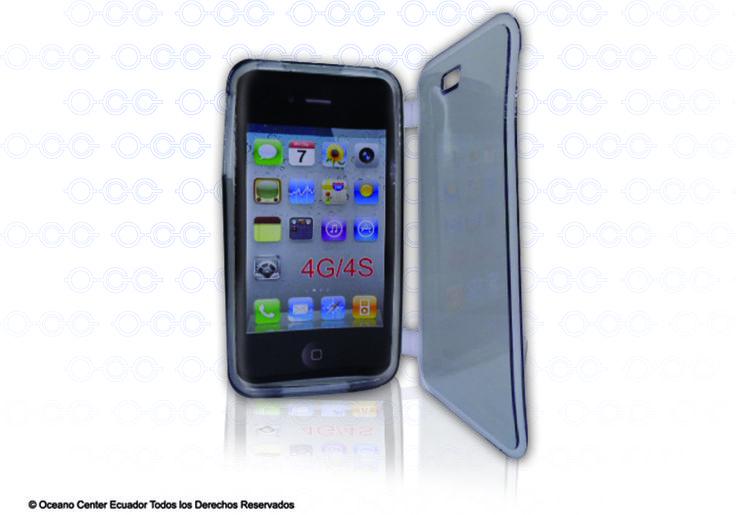 Agenda látex transparente Iphone 4G/4S