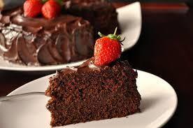 Paleo Rich Dark Chocolate Cake