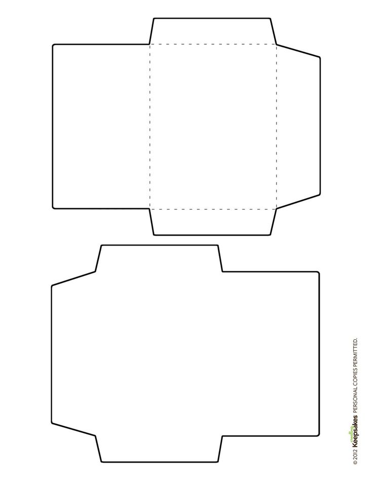 Free envelope template featured in the sept oct 2012 issue for Free templates for envelopes to print