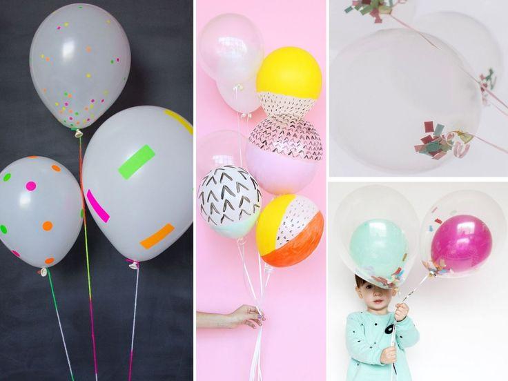 Las 25 mejores ideas sobre como decorar con globos en - Bombas para decorar ...