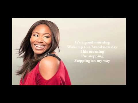 Mandisa: Good Morning - Official Lyric Video - How can anyone be in a bad mood when this is playing - it would be a great workout song! Toby Mac is just the icing on the top...