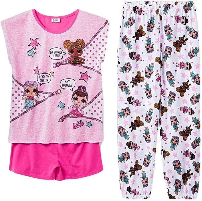 LOL Surprise Girls Short Summer Pyjamas Pjs