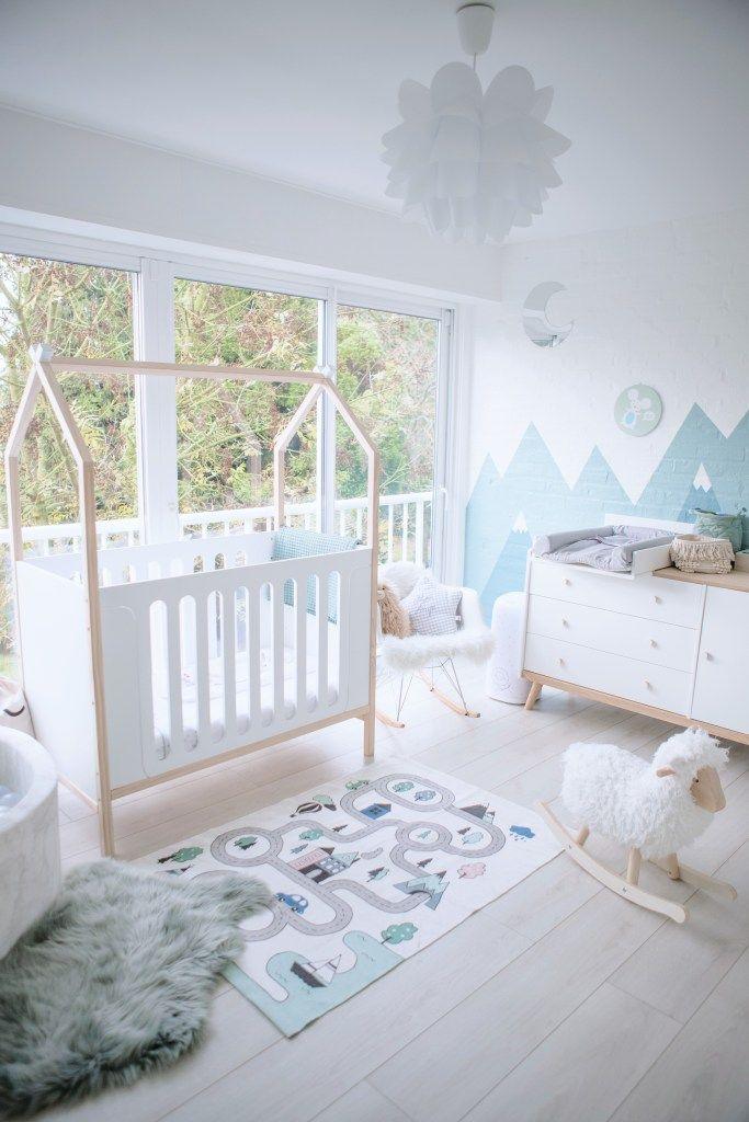 La Chambre De Baby Owen En 2020 Chambre Bebe Vert D Eau Chambre