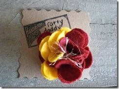 Check out our blog! Featured today is our Scrappy Florida State Seminoles Felt & Yarn Flower Pin.