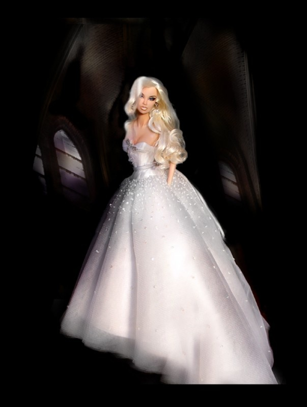 515 best images about barbie wedding dresses on pinterest for Wedding dresses for barbie dolls
