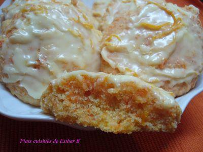 Les plats cuisinés de Esther B: Biscuits aux carottes