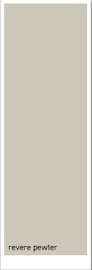Callie- This is our All over House interior color revere pewter