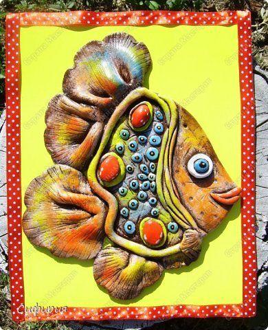 Мастер-класс Поделка изделие Лепка Рыбки такие разные Тесто соленое фото 2